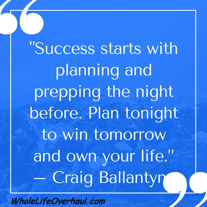 plan for a successful tomorrow