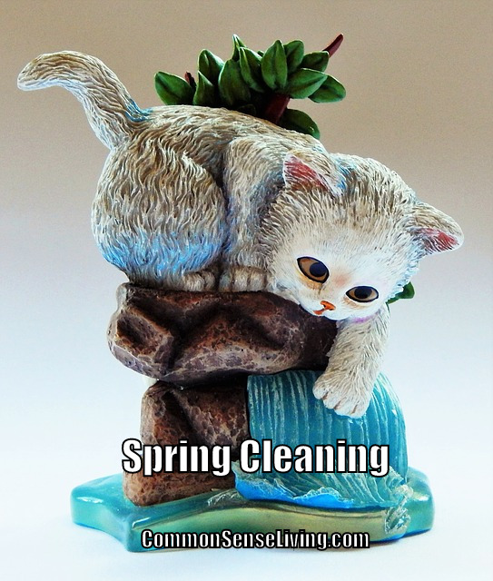Spring Cleaning - figurines