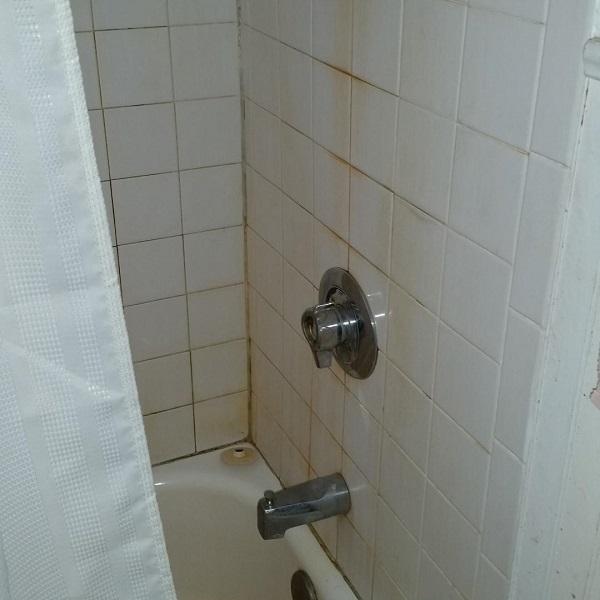 rusty bath