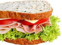 Turkey makes a great healthy sandwich