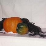 creepy halloween centerpiece