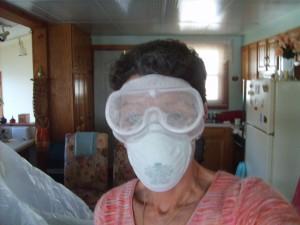 less airbrone dust?