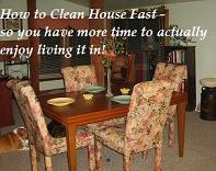 Clean Dining Table