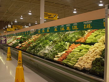Fresh produce at the Real Canadian Superstore ...