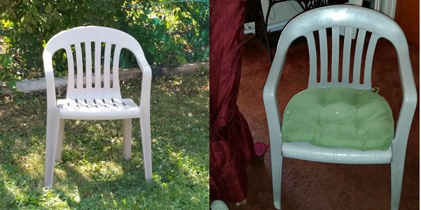 resin chairs for extra holiday seating